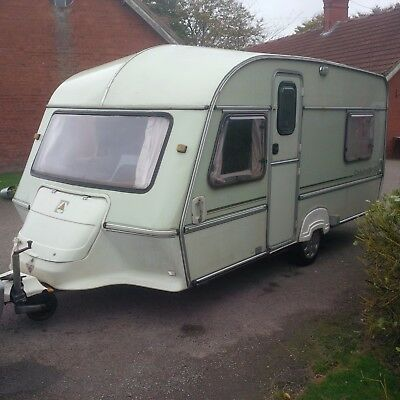 ABI Ace Globetrotter XL Unusual Layout 4 Berth Caravan with all extras & awning