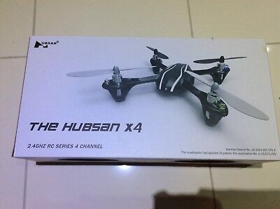 The Hubsan X4  360 Degree Flight, Indoor/Outdoor Drone. RC 4 Channel.