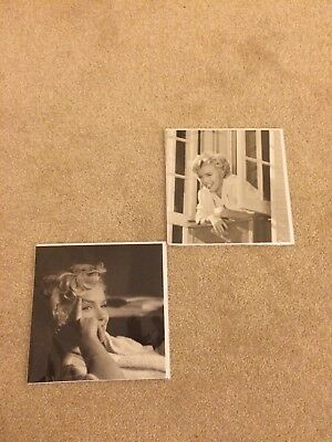 Marilyn Monroe Picture Cards x 2