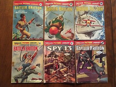 6 Thriller Picture Library War Books