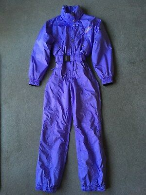 Women's Lilac Ski Suit (Petite) Size 10  French Designer  Killy