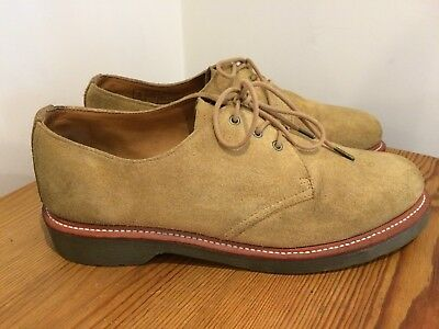 Dr. Martens 'Percy' Suede Shoes Very Good Condition Size UK 9 EU 43