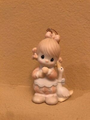 precious moments- WADDLE I DO WITHOUT YOU ORNAMENT