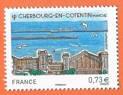 Timbre France Cherbourg     Annee 2017   Neuf ** Ttbe