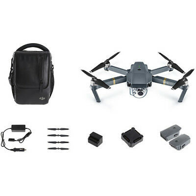 DJI Mavic Pro Fly More Combo - 4K Stabilized Cameral, Active Track, AvoidanceGPS