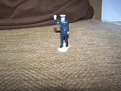 Vintage Plastic Dinky Police Figure for Ford Transit set 269  - good condition
