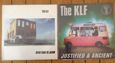 """the KLF / the JAMs - kylie said to jason / justified and ancient - 2x12"""" vinyl"""