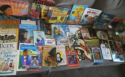 Lot 40 Children's African American/ Multi Cultural Books Black History