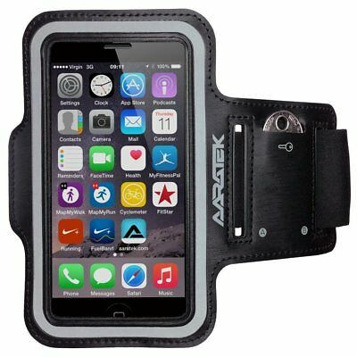 AARATEK Pro Sport Armband for Galaxy S3, iPods... Black - Rated #1 - Best for or