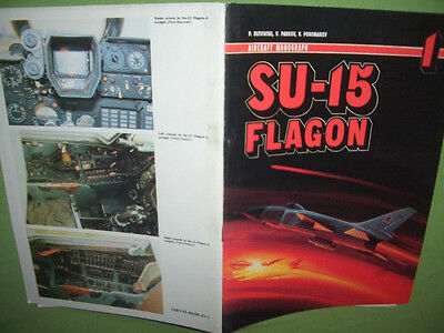 Aircraft Monograph 1, Sukhoi Su-15 FLAGON  ENGLISCH! AJ Press