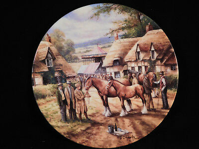 "Wedgwood Collectors Plate ""The Horse Fair"", Country Days Series"
