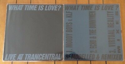 """the KLF / the JAMs - what time is love / remodelled & remixed - 2x12"""" vinyl"""