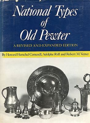 Antique British & European Pewter - Makers Periods Types Etc / Scarce Hrdbk Book