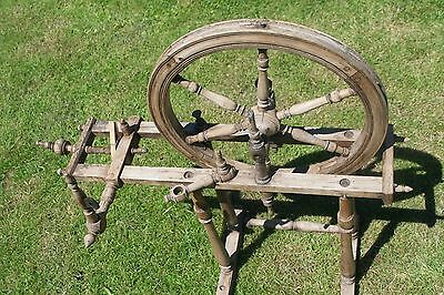 Antique French Spinning Wheel