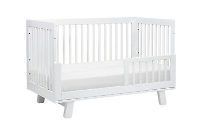 Brand New Babyletto Hudson 3-in-1 Convertible Crib w/ Toddler Bed Conversion Kit