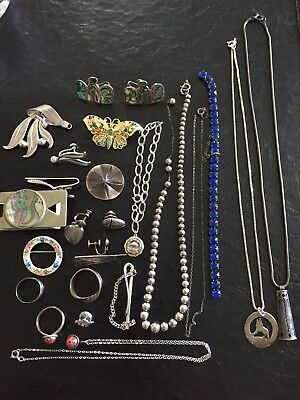 Sterling Silver Jewelry Lot Scrap Or Not