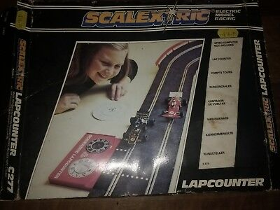 Boxed Scalextric Lap counter C277