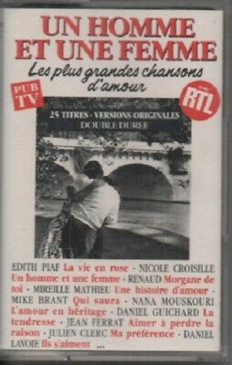 K7 audio. G. BECAUD - Claude FRANCOIS - GAINSBOURG - Mike BRANT - Eddy MITCHELL