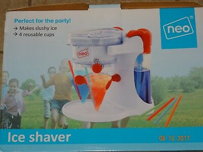 Neo ice shaver smoothie maker fun for kids