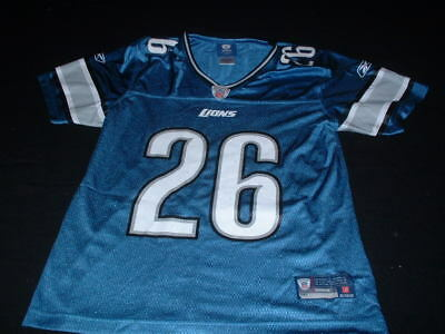 Detroit Lions USA United States NFL American Football Small mans Delmas 26 Top