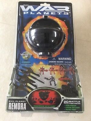 Trendmasters WAR PLANETS Evil Planet REMORA 20 pc FORTRESS Unopened - SCARCE