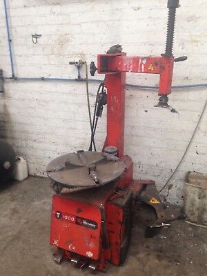 John Bean T1000 Tyre Changer - Snap On - Good Working Order - For Collection