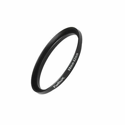 Fotodiox Metal Step Up Ring Filter Adapter Anodized Black Aluminum 58mm-62mm ...