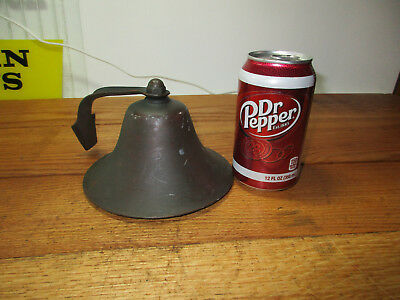 Antique solid brass/copper Bell School Dinner Church Bell Nice Sound