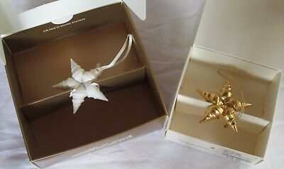 Margaret Furlong Catch a Falling Star ornaments set of 2(NIB)