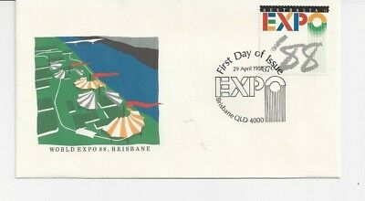 """Australia - First Day Cover - """"1988 The Early Days"""" - #afd1"""