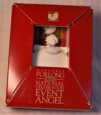 Margaret Furlong 1999 National Celebration Nesting Quail Angel & pin (NIB)