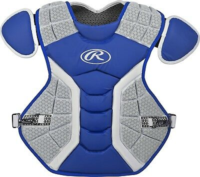 (43cm , Matte Royal) - Rawlings Pro Preferred Series Chest Protector