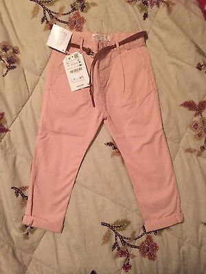 Zara Girls Pink Trousers Size 2/3 Yr Old