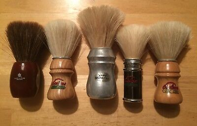 Semogue Mondial & Vie Long Shave Brushes