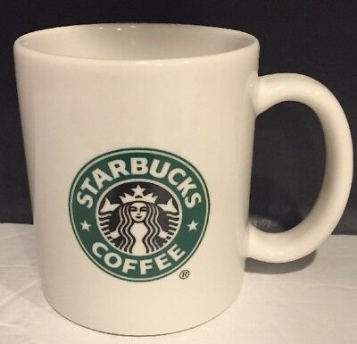 STARBUCKS 2004 12 oz Mermaid Logo Latte Coffee Mug Cup