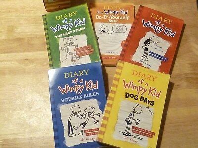 Diary Of A Wimpy Kid Collection by Jeff Kinney (Paperback, 2008)