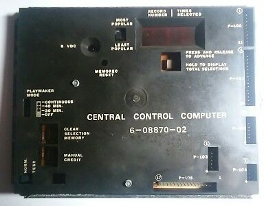 Rowe R84-R88 central control computer 6-08870-02