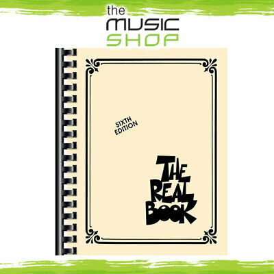 New 'The Real Book' Jazz Music Book Volume 1 - 6th Edition - C Instruments