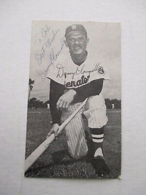 Danny O Connell autographed postcard