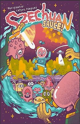 Limited Edition RICK and MORTY Szechuan Sauce Promo Poster PHOTO McDonalds