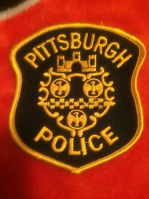 Pennsylvania Police - Pittsburgh  Police  PA Police Patch