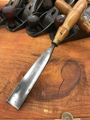 S.J. Addis Cast Steel Gouge 1 Chisel From The Early Years No 6