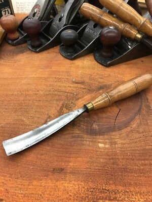 S.J. Addis Cast Steel Gouge 7/8 Chisel From The Early Years No 15