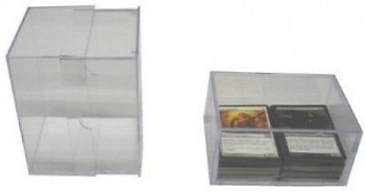 5 BCW Brand 250 Trading Card Capacity Slider Box / Holder / Case - TCBRSB250 -