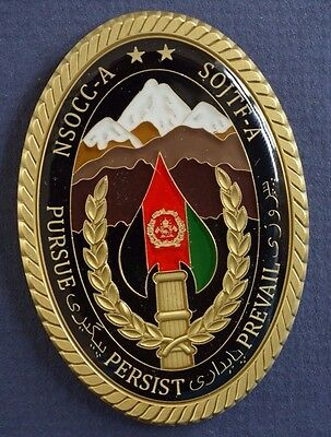 Special Operation Joint Task Force Afghanistan - Cag Coin [Rare & Unique Coin]
