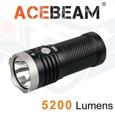 Acebeam K30 LED Torch - 5200 Lumens | Compact Handheld Floodlight