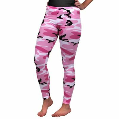 Womens Camo Leggings - Pink --| Authorised Aussie Dealer |--