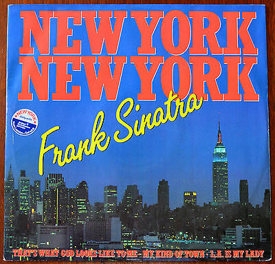 "Frank Sinatra ‎– Theme From New York, New York 12"" – K14502T – Ex"