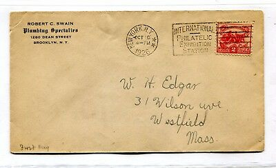 New York Ny International Philatelic Exhibition Station First Day Cover Stamp