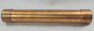 Vintage Early Copper Pipe Tube Kaleidoscope